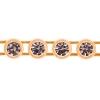 Preciosa Rhinestone Banding 1Row SS13 Gold Casing/crystal